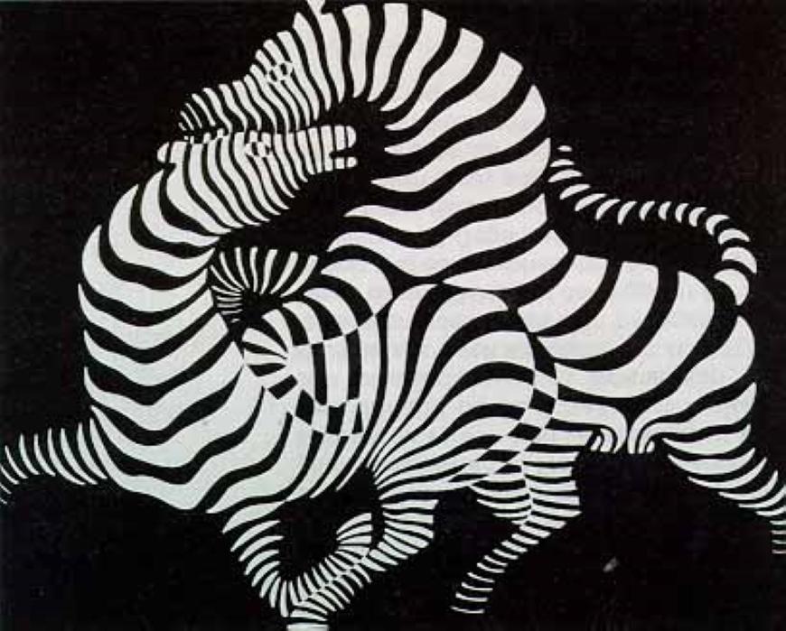 victor vasarely zebra