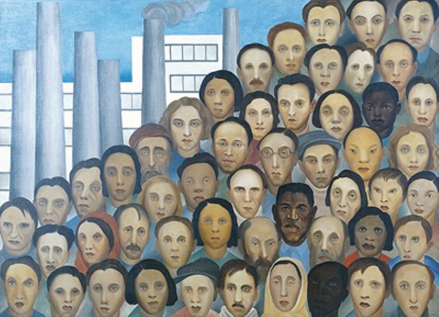 pinturas modernistas