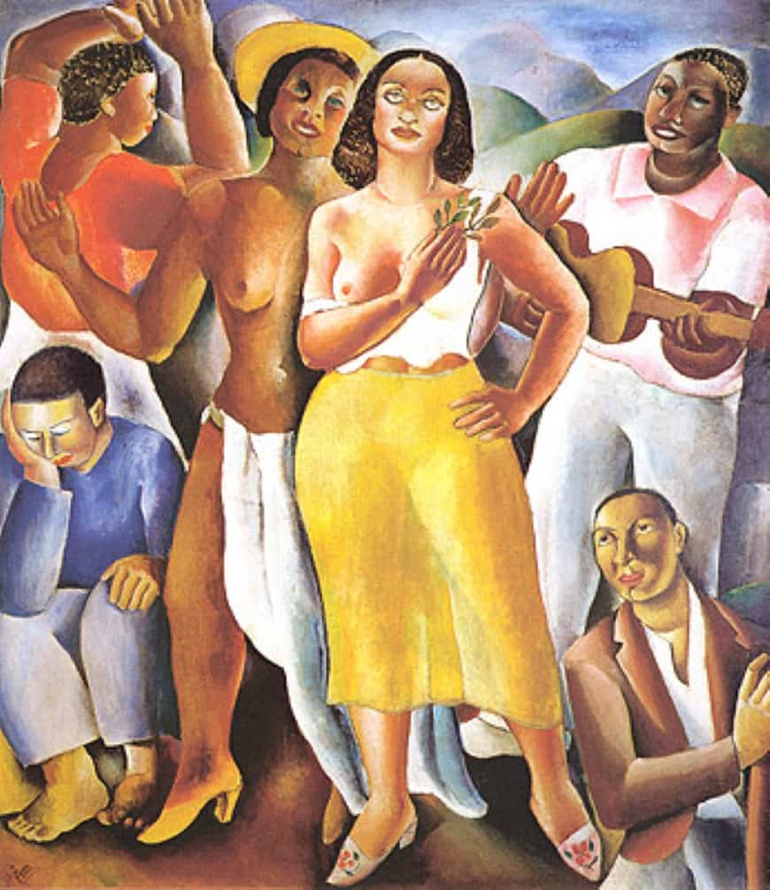 artistas modernistas