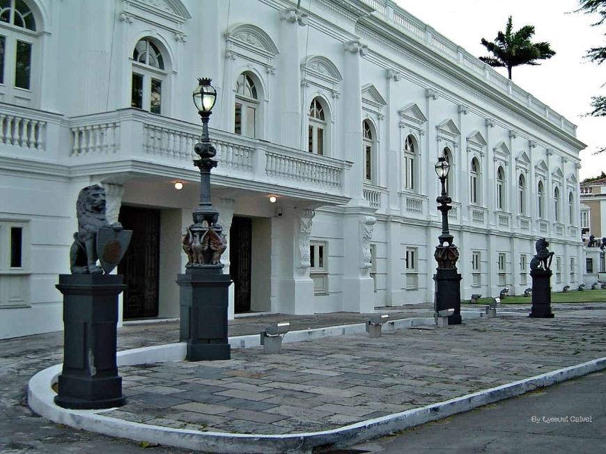 arquitetura neoclássica no brasil palácio dos leões