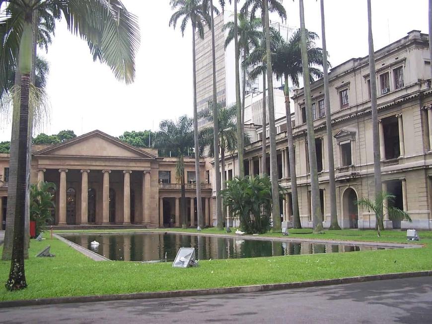 arquitetura neoclássica no brasil palácio do itamaraty