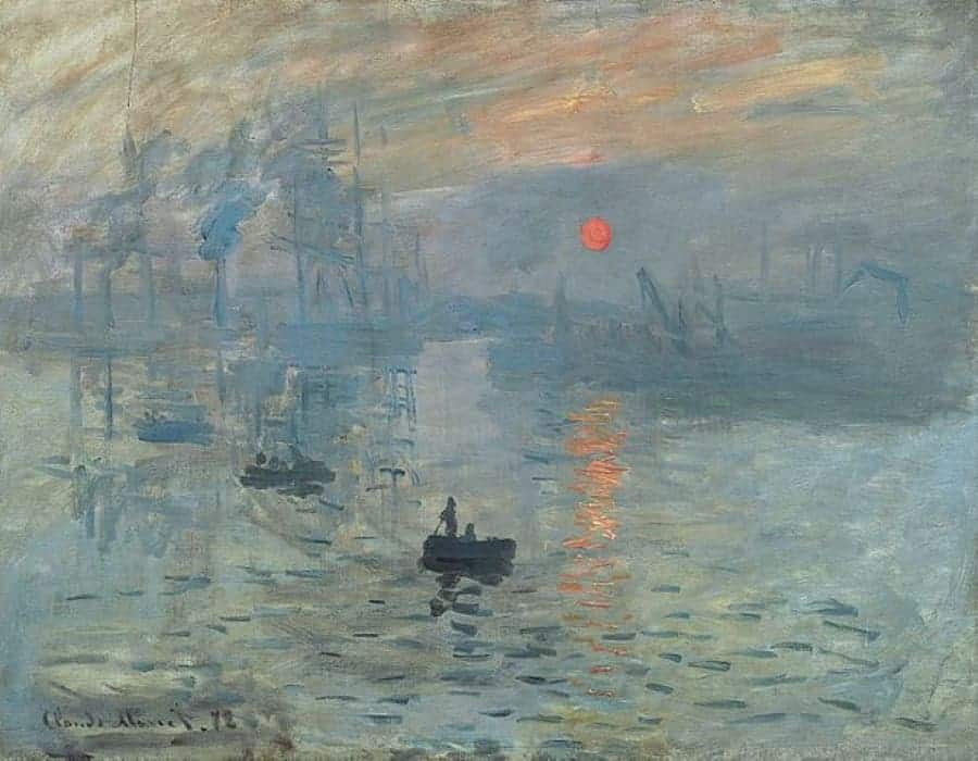 pintores mais famosos do mundo monet