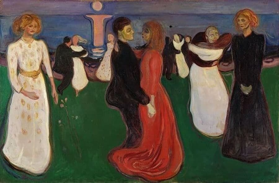 pintores mais famosos do mundo munch