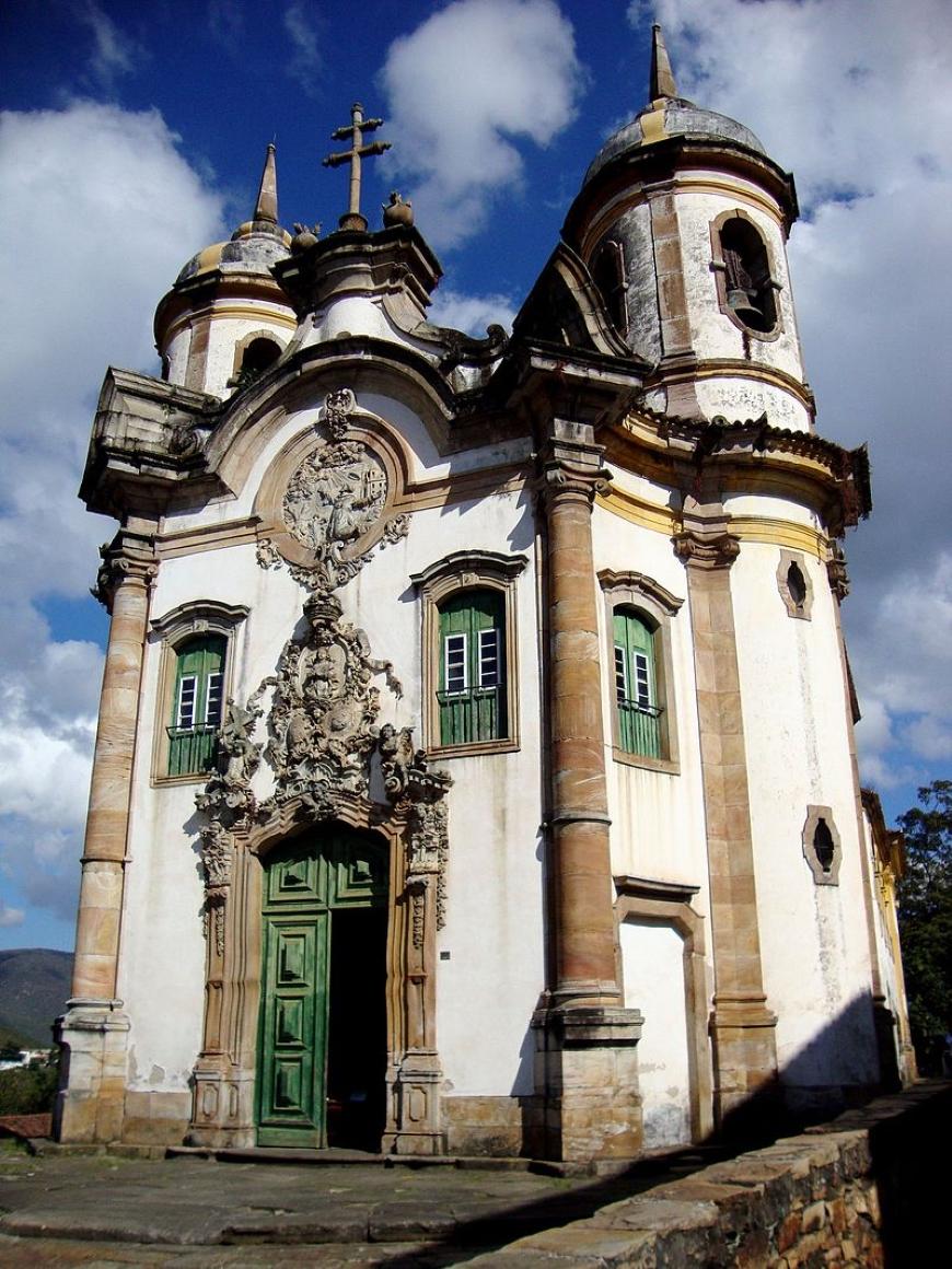 arquitetura rococó no brasil