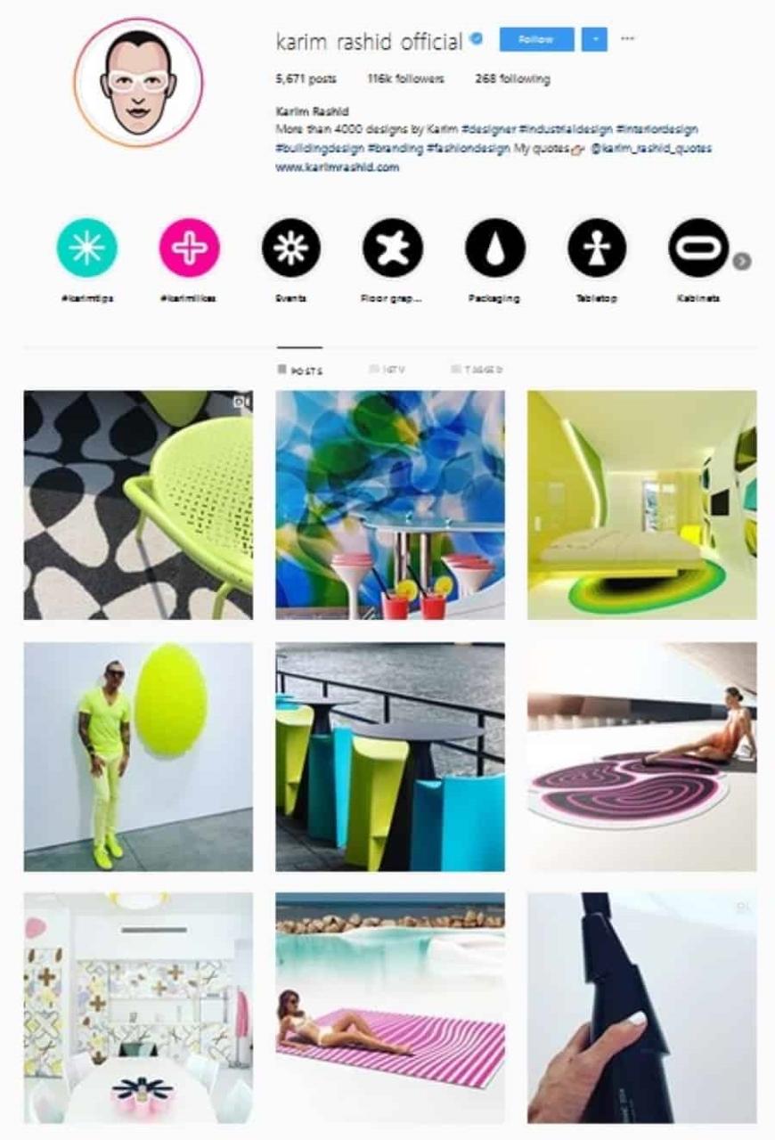 design de interiores instagram