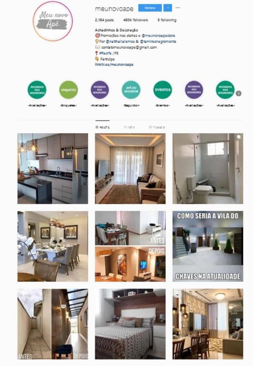 instagram design interiores