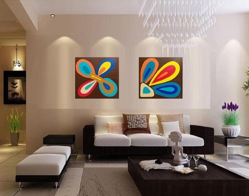 arte em decoração