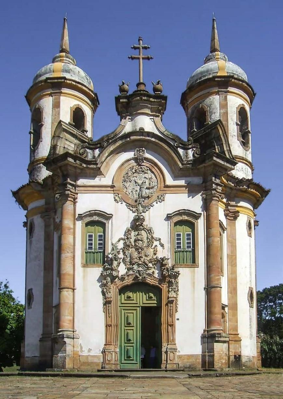 arquitetura barroca características