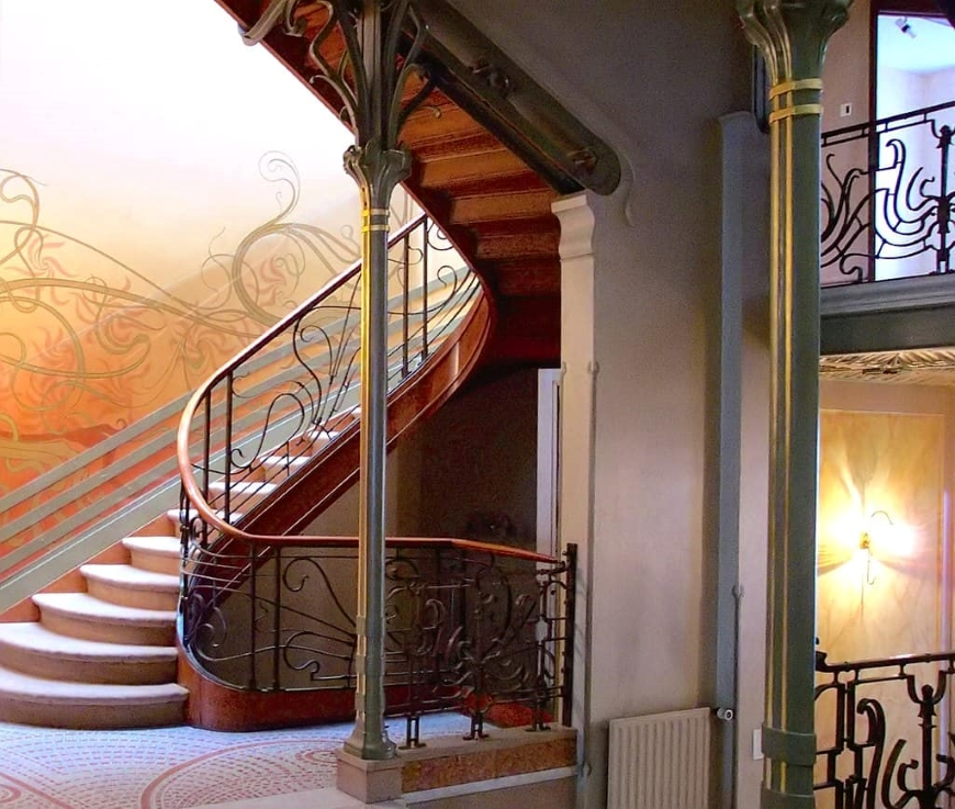 art nouveau características arquitetura