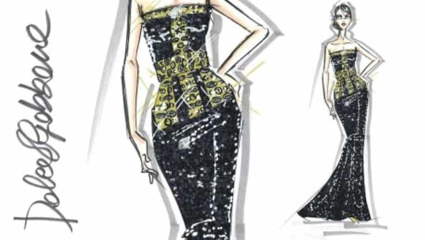 desenhos de estilistas famosos