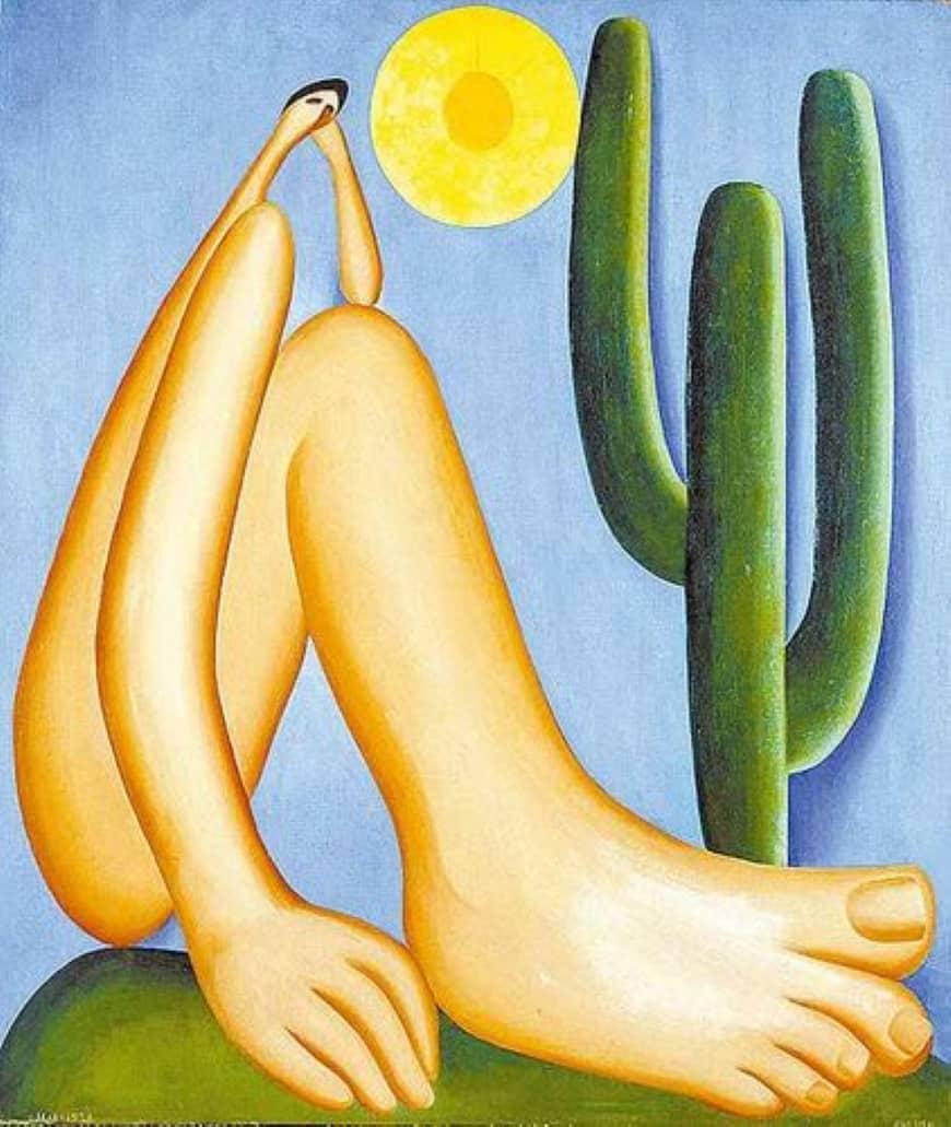 abaporu pinturas famosas brasileiras