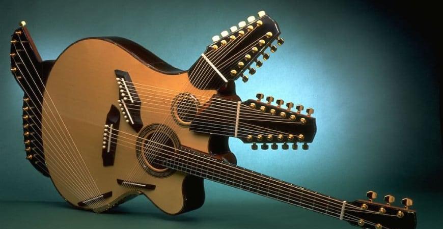 instrumentos musicais diferentes