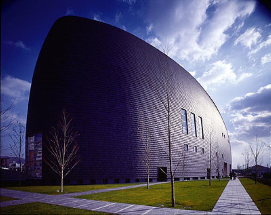 arata isozaki nara centennial hall