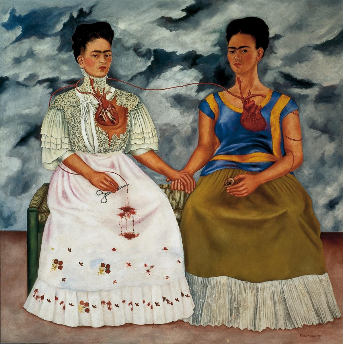 As duas Fridas - Frida Kahlo